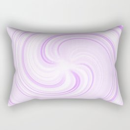 Boysenberry Sundae Swirl Rectangular Pillow