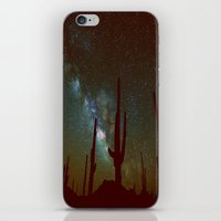 milky way iPhone & iPod Skins featuring milky way by 2sweet4words Designs