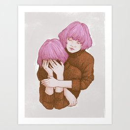 Be nice to yourself Art Print