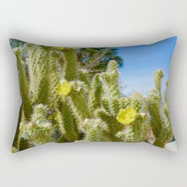 Cactus Flowers Rectangular Pillow