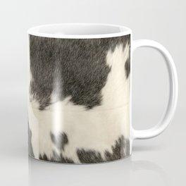 Black & White Cow Hide Coffee Mug