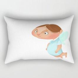Angel Boy Rectangular Pillow