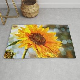 Radiant Sunflower Rug