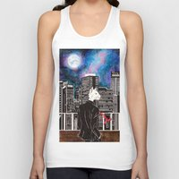 cityscape Tank Tops featuring Cityscape by Toa's Wildscape