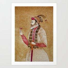 Mughal Emperor Art Print