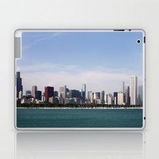 Chicago Skyline Day Photography Laptop & iPad Skin
