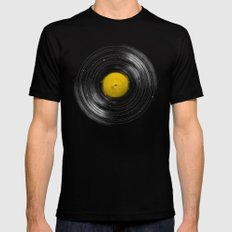 Sound System SMALL Black Mens Fitted Tee