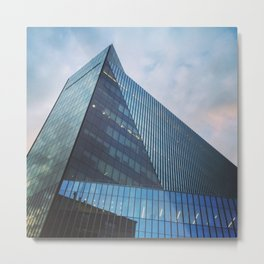 Astor Place Tower New York Metal Print