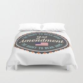 Second Amendment Duvet Cover