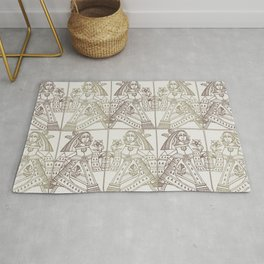 Ladies Only - Mid Century Modern Neutrals Rug