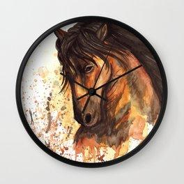 A good horse Wall Clock