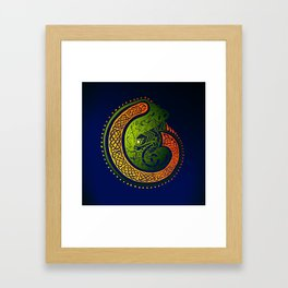 Irish Twist Framed Art Print