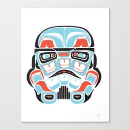 Skull Warrior - Alliance Is Rebellion - Stormtrooper,  Canvas Print