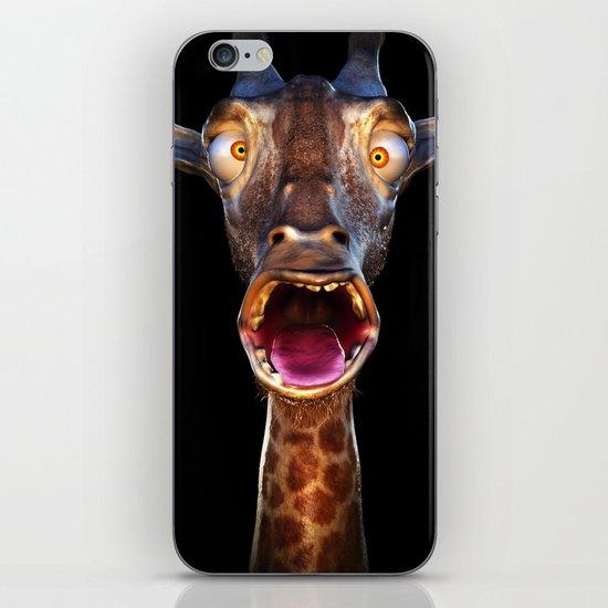 Animal Portraits - Giraffe iPhone & iPod Skin