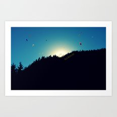 Hello Adventure Art Print