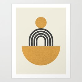 Composition - Arch Balance Art Print