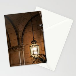 Hanging Lamp in the Hall of a Dark Moorish Castle Stationery Cards