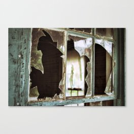 {shattered} Canvas Print