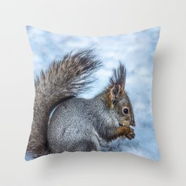 Healthy dinner Throw Pillow