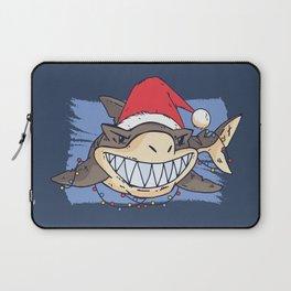 Christmas Shark Laptop Sleeve