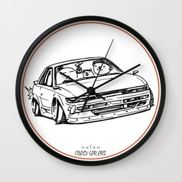 Crazy Car Art 0020 Wall Clock