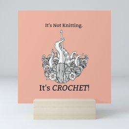 It's Crochet! Mini Art Print