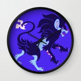 Heraldic Luxray Wall Clock