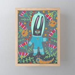 World Explorer Framed Mini Art Print