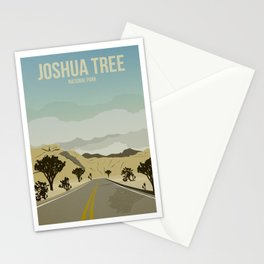 Joshua Tree National Park - Travel Poster Stationery Cards