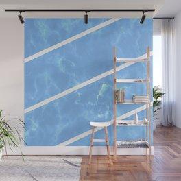 Blue Granite Wall Mural