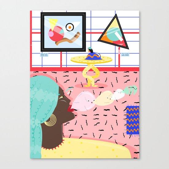 pop non stop Canvas Print