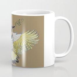 Northern flicker of hope watercolor painting. Coffee Mug