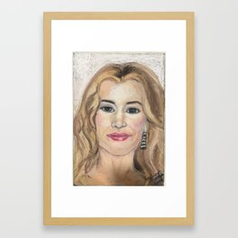 Kate Winslet Framed Art Print