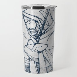 Jesus Christ Good Shepherd Travel Mug