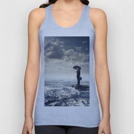 Just thinking about the World Unisex Tank Top