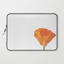 California Poppy Laptop Sleeve