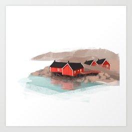Lofoten Art Print