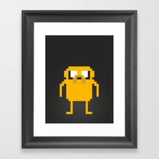 jake pixel Framed Art Print
