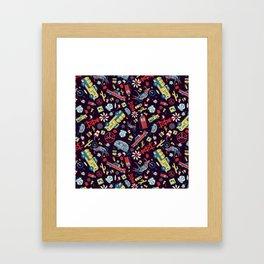 I Heart Route 66 Framed Art Print