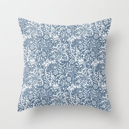 William Morris Curved Vine Pattern Throw Pillow