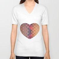 bubbles V-neck T-shirts featuring Bubbles by PhotoStories