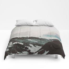 Moody Mountains Comforters