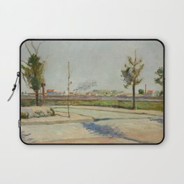 Road to Gennevilliers Laptop Sleeve