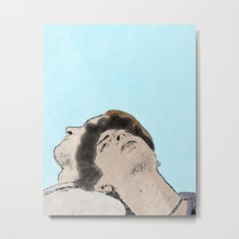 Call Me By Your Name - Watercolor Metal Print