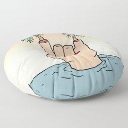 ROCK THE BEACH Floor Pillow