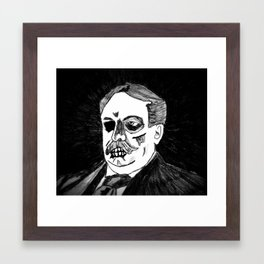 27. Zombie William Howard Taft  Framed Art Print
