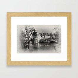 Ironbridge birthplace of a revolution Framed Art Print
