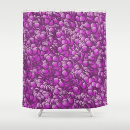 relief rose 4 Shower Curtain