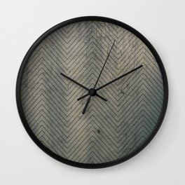 geometal texture Wall Clock