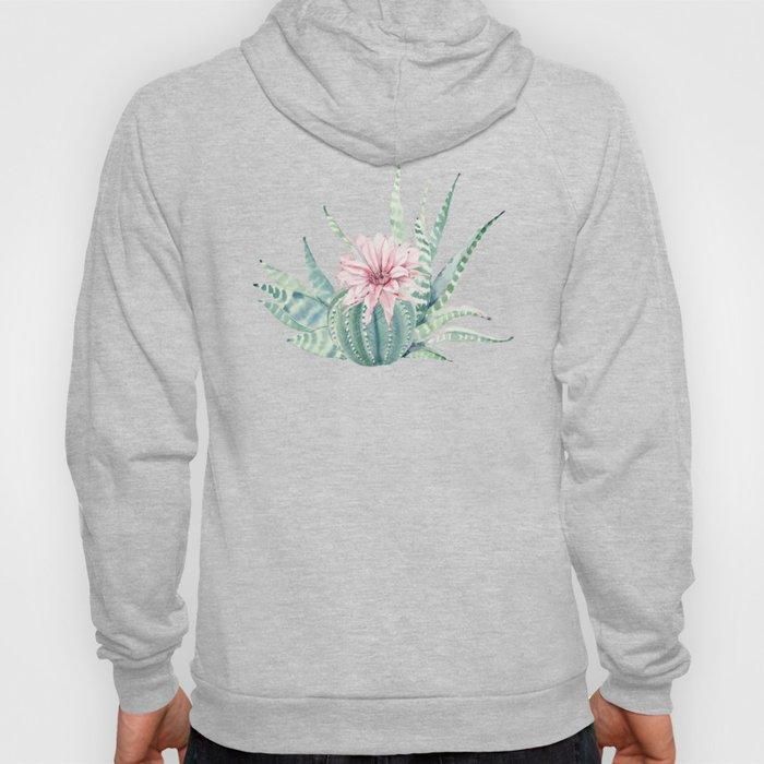 Petite Cactus Echeveria Hoody